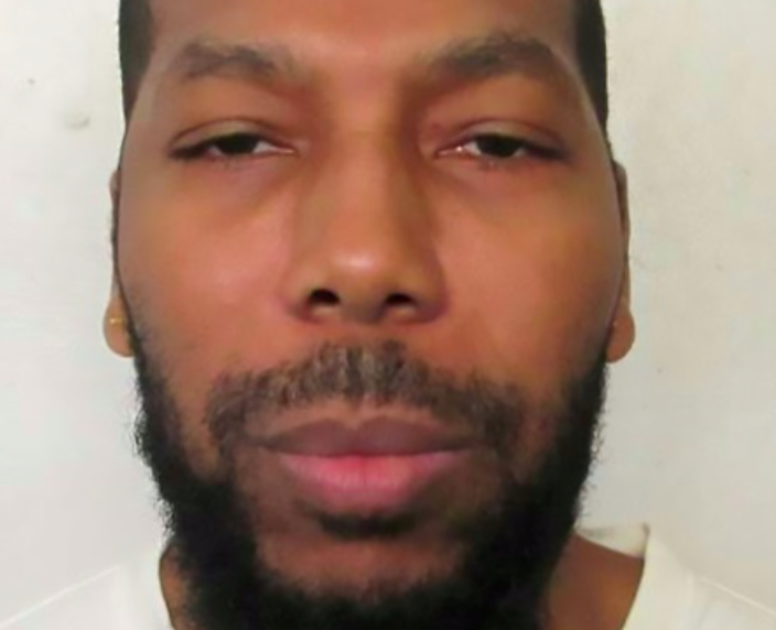 <em>Dominique Ray had a stay of execution over a ban on an imam in the execution chamber (Police handout)</em>