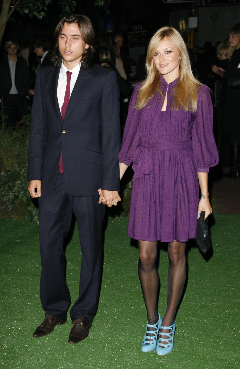 Fearne Cotton and boyfriend Jesse Jenkins arriving at the European Premiere of Stardust, Odeon Cinema, Leicester Square, London.