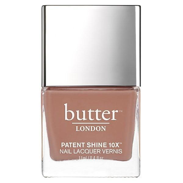 <p><span>Butter London Patent Shine 10X Nail Lacquer in Tea with the Queen</span> ($18)</p>