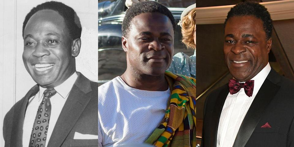 <p><em>Penny Dreadful</em> star Danny Sapani played the first president of Ghana, Kwame Nkrumah, in Season 2 of <em>The Crown</em>.</p>