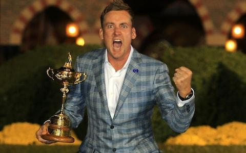 <span>Ian Poulter is 'Mr Ryder Cup'</span> <span>Credit: Getty Images </span>
