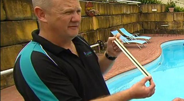 Michael Morris said homeowners could face fines for any unfenced pools deeper than 30 centimetres. Photo: 7 News
