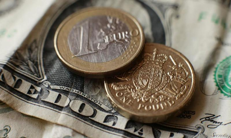 The pound has surged to its highest level against the dollar since the Brexit vote in June 2016.