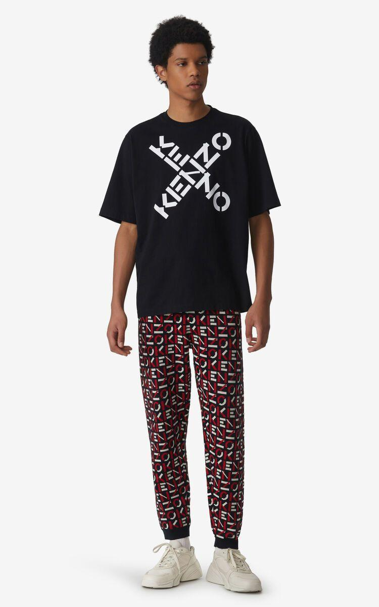 """<p><strong>Kenzo Sport</strong></p><p>kenzo.com</p><p><strong>$130.00</strong></p><p><a href=""""https://go.redirectingat.com?id=74968X1596630&url=https%3A%2F%2Fwww.kenzo.com%2Fus%2Fen%2Fkenzo-sport--big-x--t-shirt%2FFA65TS5024SJ.99.L.html&sref=https%3A%2F%2Fwww.esquire.com%2Fstyle%2Fmens-fashion%2Fg33835200%2Fbest-new-menswear-august-28-2020%2F"""" rel=""""nofollow noopener"""" target=""""_blank"""" data-ylk=""""slk:Shop Now"""" class=""""link rapid-noclick-resp"""">Shop Now</a></p><p>Behold an """"N"""" pulling double duty (and, also, note that it could be a """"Z"""" if so inclined). </p>"""
