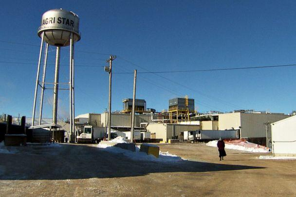 PHOTO:The Agri Star Meat and Poultry facility in Postville, Iowa is the largest employer in Allamakee County and one of the biggest Kosher meatpacking plants in the country. (ABC News )