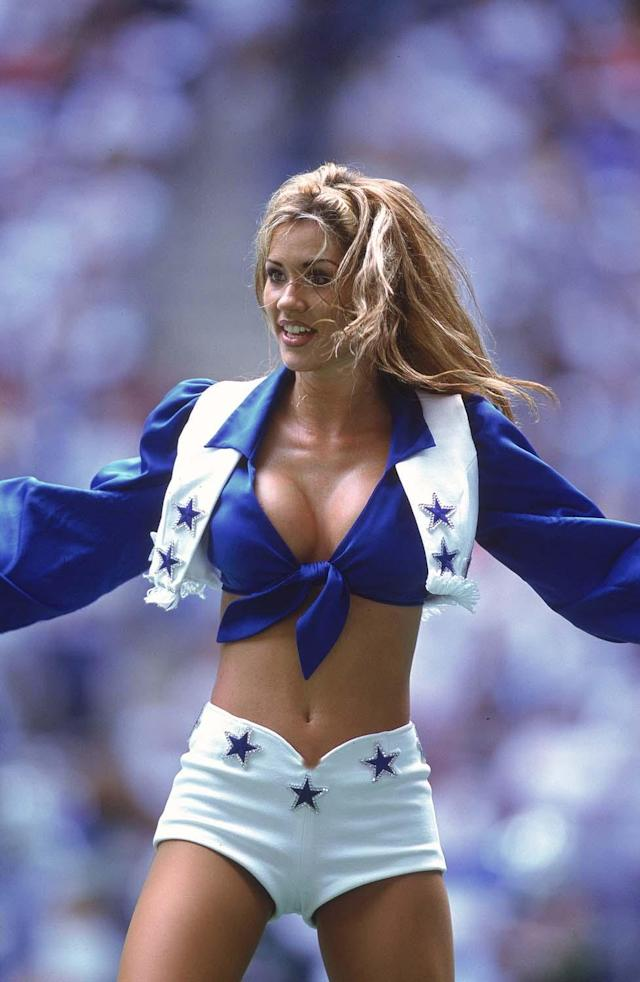 View of Cheerleader By: Ronald Martinez Getty Images Sport