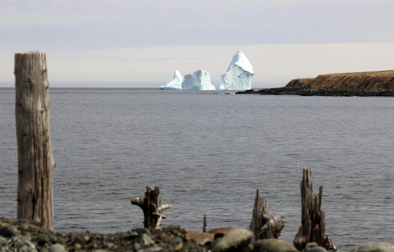 The Ferryland iceberg is so huge that you can feel its chill even miles away on the shore (Jared Clarke)