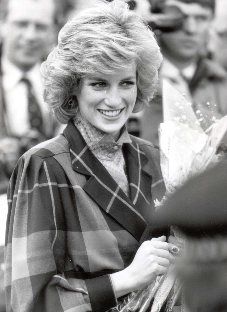 Diana - Princess Of Wales - February 1985 Princess Of Wales Visits A Barnardos In Ilford. ...royalty Princess Diana Of Wales (died 31/8/1997)