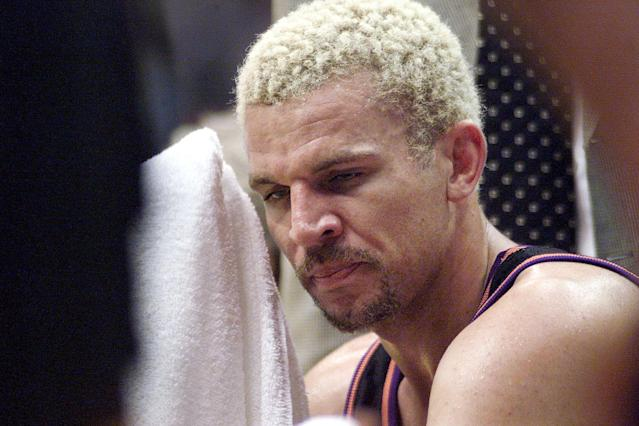 The Phoenix Suns version of Jason Kidd looked a lot different from the finished product. (Getty Images)