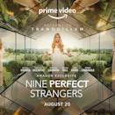 """<p>Based on the hit book by Liane Moriarty -yes, that is the author behind Big Little Lies - eight-part series Nine Perfect Strangers tells the story of a wellness retreat which opens its doors to nine guests 'who have no idea what is about to hit them'. </p><p>Produced by the team behind Big Little Lies - and starring one of its own in the form of Nicole Kidman - other cast members include Melissa McCarthy, Luke Evans and Samara Weaving and will launch later in the year.<br></p><p><strong>Release date: TBC</strong></p><p><a href=""""https://www.instagram.com/p/CP_I-ZuooYe/"""" rel=""""nofollow noopener"""" target=""""_blank"""" data-ylk=""""slk:See the original post on Instagram"""" class=""""link rapid-noclick-resp"""">See the original post on Instagram</a></p>"""