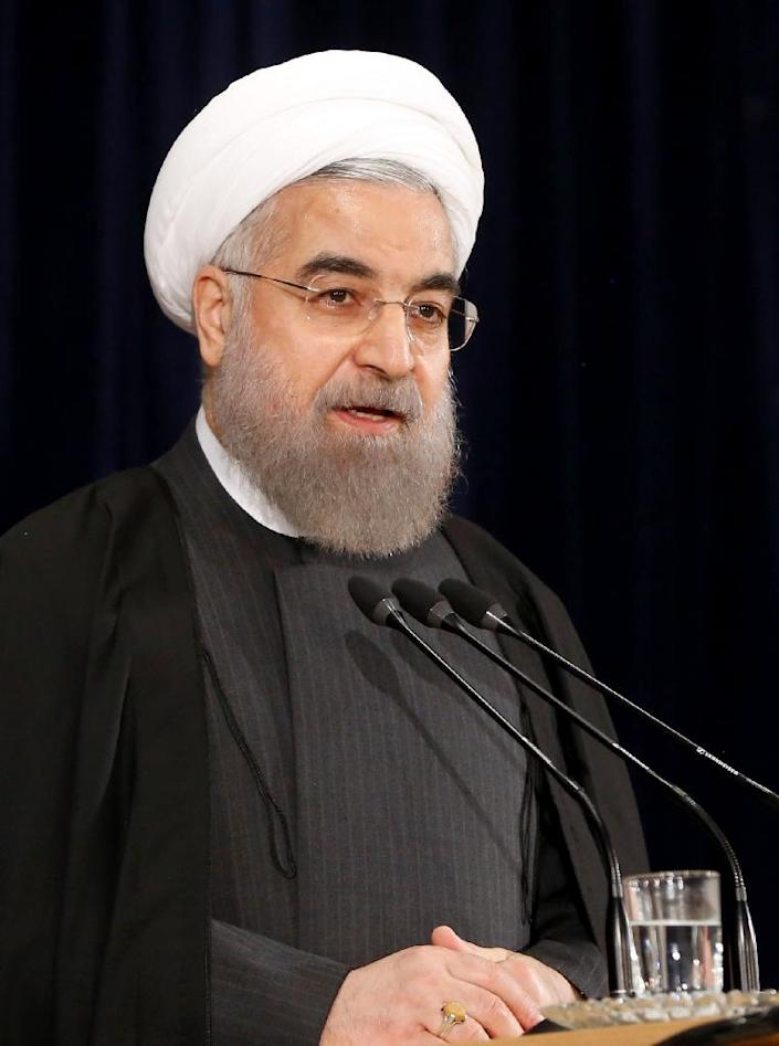 Iranian President Hassan Rouhani wrote to Iran's judiciary chief to demand that those accused of orchestrating the ransacking of the Saudi embassy be dealt with urgently (AFP Photo/Atta Kenare)