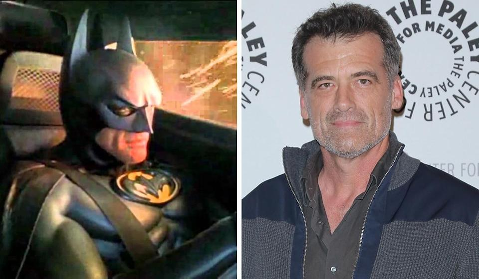 <p>The in-car systems company used Batman as their spokesman for a series of five adverts in the early 2000s. Journeyman actor Thomas – who you might recognise as the delivery guy in 'Legally Blonde' – wore the Batsuit. </p>