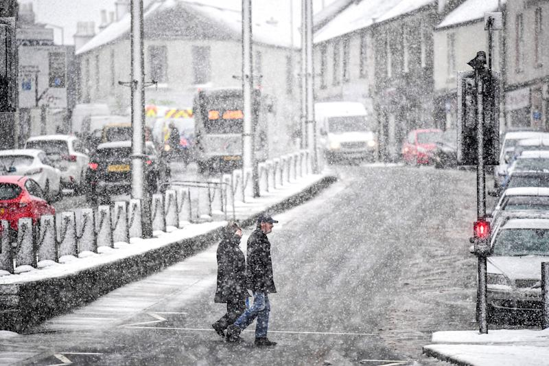 Snow has swept across the UK: Getty Images
