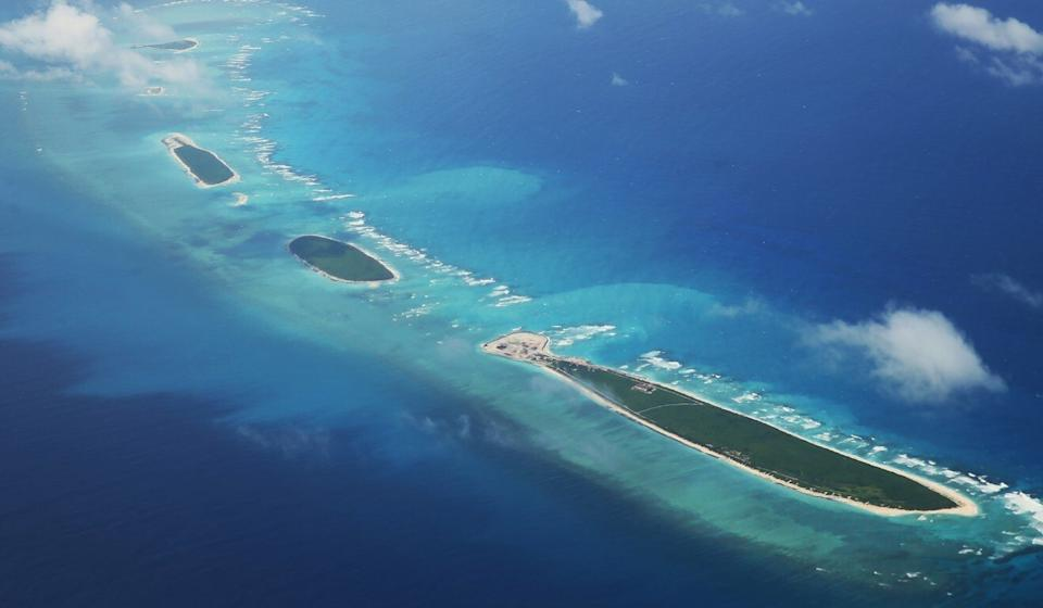 The Chinese missiles hit a moving target close to the Paracel Islands, a former PLA colonel said. Photo: AFP
