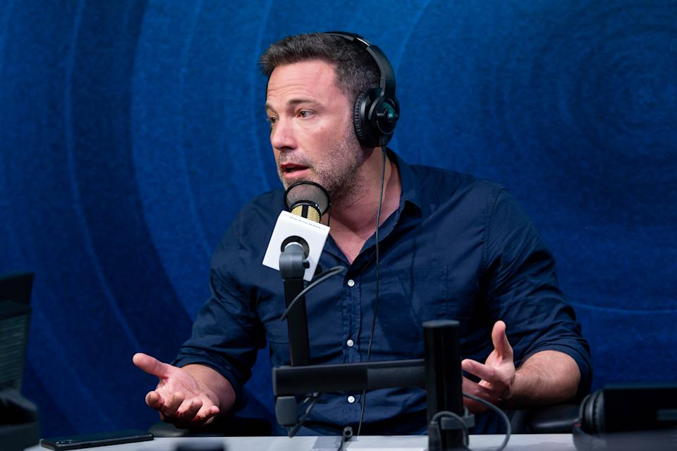 LOS ANGELES, CALIFORNIA - MARCH 03: Ben Affleck visits the Jess Cagle Show at the SiriusXM Hollywood Studios on March 03, 2020 in Los Angeles, California. (Photo by Emma McIntyre/Getty Images for SiriusXM)