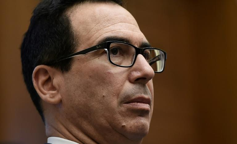 US Treasury Secretary Steven Mnuchin has taken the lead in negotiating among Ethiopia, Egypt and Sudan on a controversial dam project (AFP Photo/Olivier Douliery)
