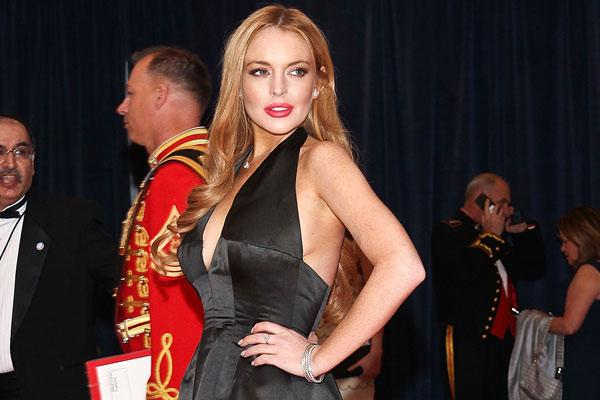 Lindsay Lohan's White House Sideboob: Was It Disrespectful?