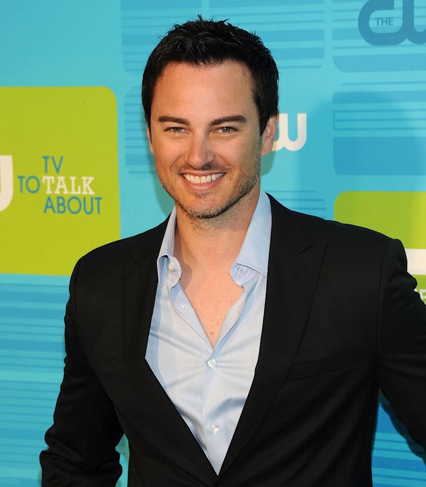 """<a href=""""/kerr-smith/contributor/34130"""">Kerr Smith</a> (""""<a href=""""/life-unexpected/show/44830"""">Life Unexpected</a>"""") attends the 2010 The CW Upfront at Madison Square Garden on May 20, 2010 in New York City."""