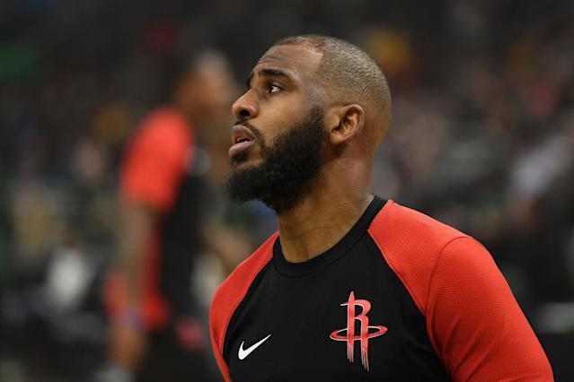 Will Chris Paul remain in Oklahoma City, or is another move pending? (Getty)