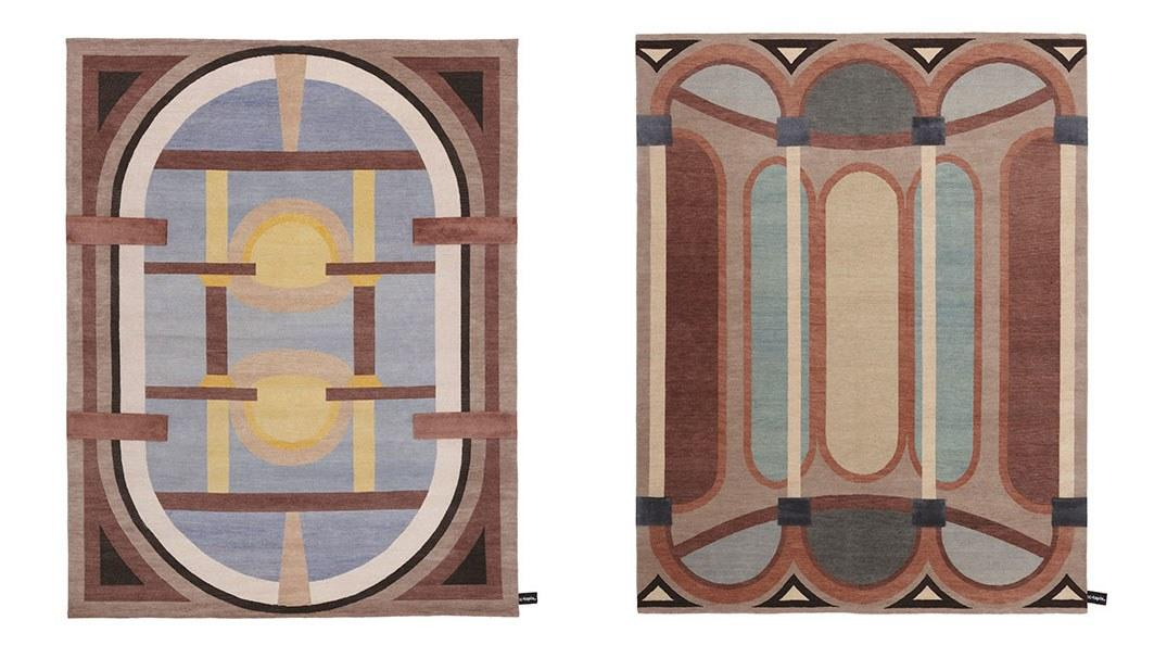 """<a rel=""""nofollow"""" href=""""http://www.studioklass.com/"""">Studio Klass</a> just launched their first collection of handmade rugs for <a rel=""""nofollow"""" href=""""http://www.cc-tapis.com/"""">cc-tapis</a>. Making creative use of perspective, the Cinquecento collection looks back to the Italian Renaissance in a modern, graphic way."""