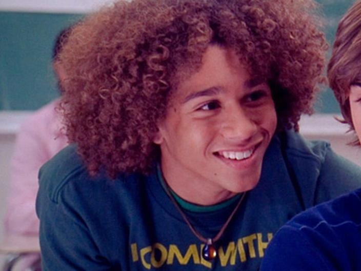 corbin bleu as chad danfroth in high school musical