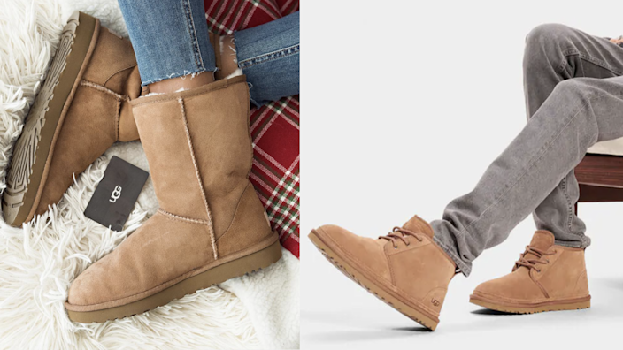 Time to break out the Uggs.
