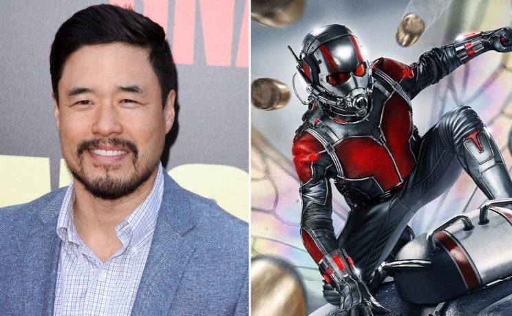 Randall Park, newest addition to the cast of superhero sequel 'Ant-Man and the Wasp' (credit: WENN/Marvel Studios)