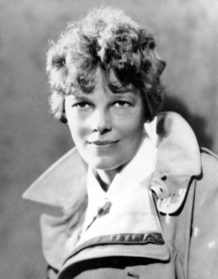 FILE - An undated file photo shows American aviatrix Amelia Earhart. A $2.2 million expedition is hoping to finally solve one of America's most enduring mysteries. What happened to famed aviator Amelia Earhart when she went missing over the South Pacific 75 years ago? (AP Photo, File)