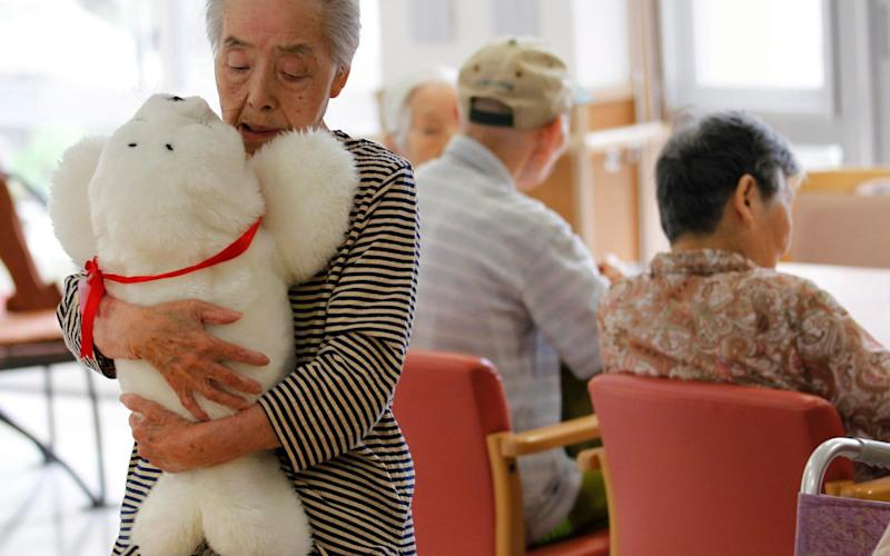 Japan has a rapidly ageing population - REUTERS/KIM KYUNG-HOON