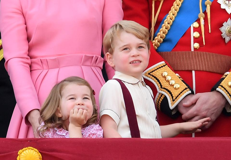 <p>We loved his braces and short sleeves for the 2017 Trooping the Colour. (Karwai Tang/WireImage)</p>