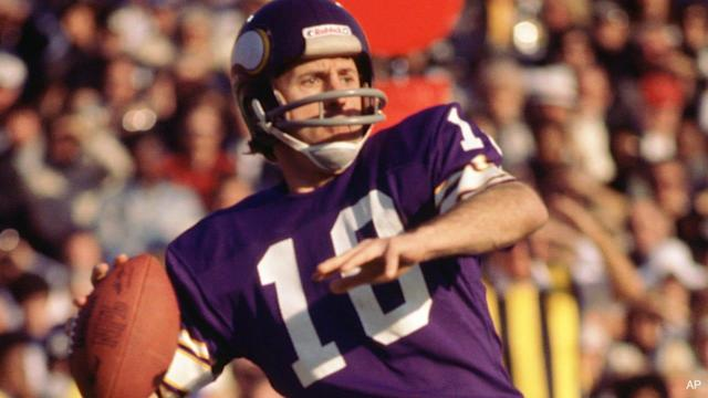 Lunchbreak: Fran Tarkenton Ranked High Among Super Bowl QBs
