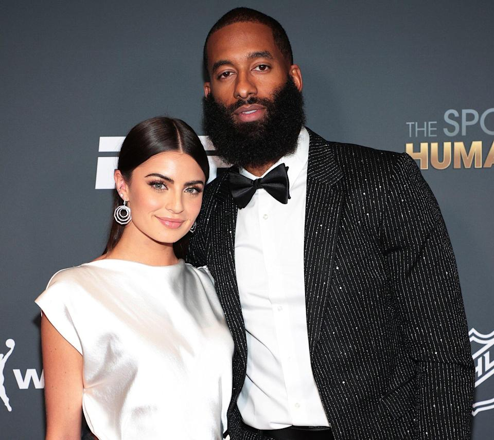 Rachael Kirkconnell and Matt James attend the 2021 Sports Humanitarian Awards on July 12, 2021 in New York City.