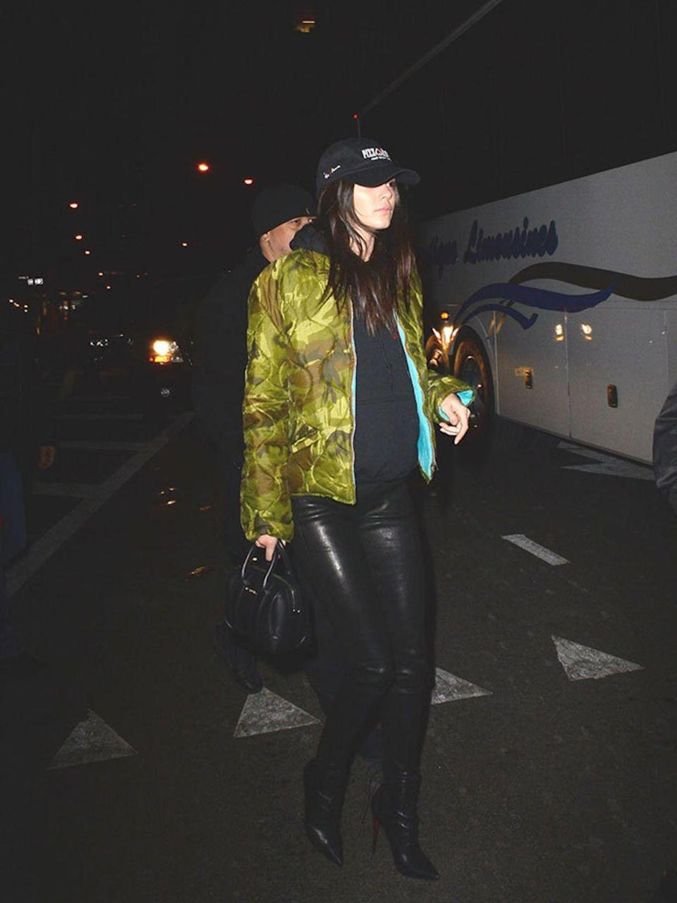 <p>Kendall Jenner out and about during New York Fashion Week, February 2016.</p>