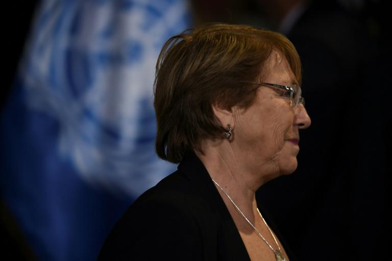 "UN High Commissioner for Human Rights Michelle Bachelet condemned the ""tragic and reprehensible"" murder of a Brazilian tribal chief"