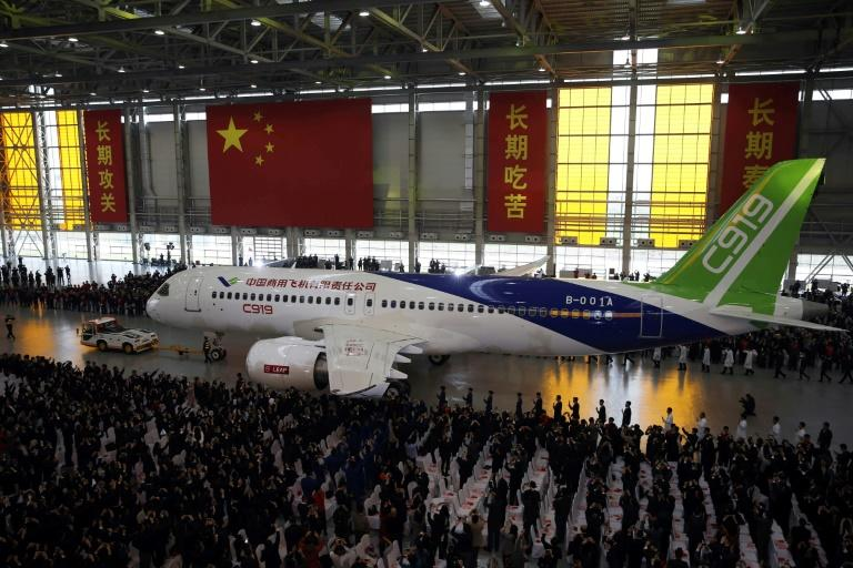 Commercial Aircraft Corporation of China (COMAC) had already received 570 orders by the end of last year, almost all from domestic airlines