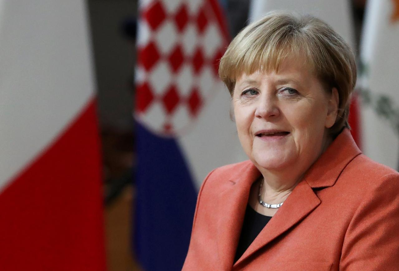 """German politician serving as chancellor of Germany since 2005. She served as the leader of the centre-right Christian Democratic Union (CDU) from 2000 to 2018. Merkel has been widely described as the de facto leader of the European Union, the most powerful woman in the world, and """"leader of the free world""""."""