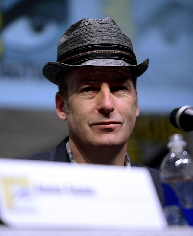 "Bob Odenkirk onstage at the ""Breaking Bad"" panel during Comic-Con International 2013 at San Diego Convention Center on July 21, 2013 in San Diego, California."