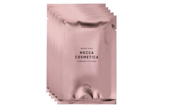 "These eye masks from Mecca are apparently like ""8 hours sleep for tired eyes"". Photo: Mecca"