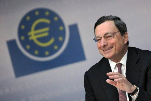 ECB chief Draghi vows total support for euro