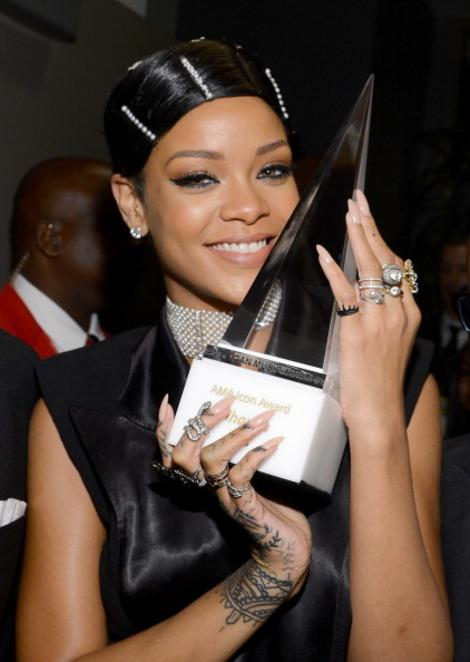 Why Rihanna deserved to win the first ever Icon Award at the AMA's 2013