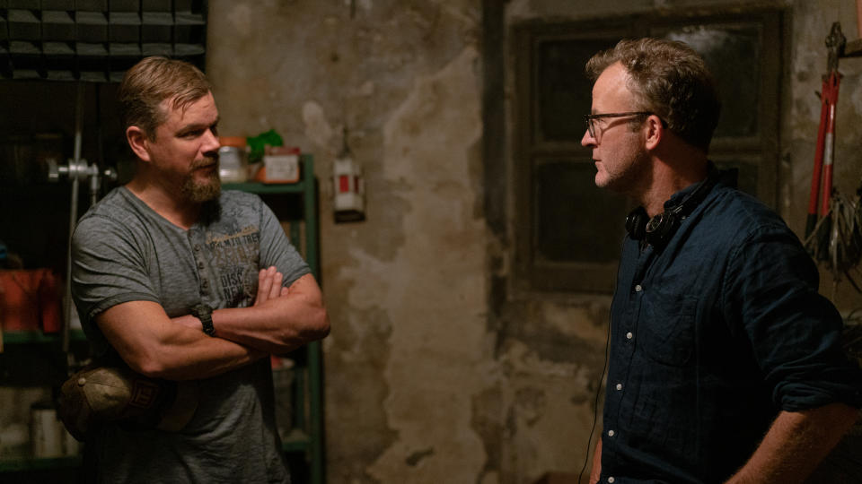 Matt Damon was director Tom McCarthy's first choice for the lead role in 'Stillwater'. (Jessica Forde/Focus Features/eOne)
