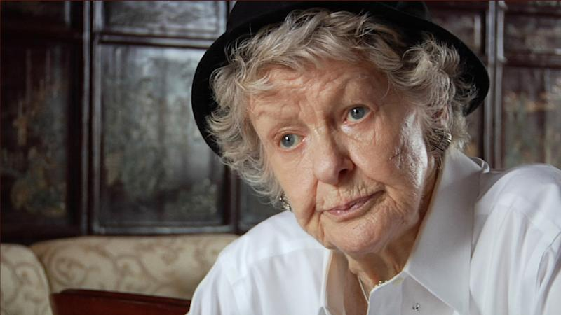 """This film image released by the Tribeca film Festival shows Elaine Stritch in a scene from """"Elaine Stritch: Shoot Me,"""" a film that will be shown at the Tribeca Film Festival running April 17 through April 28, 2013 in New York. (AP Photo/Tribeca Film Festival)"""