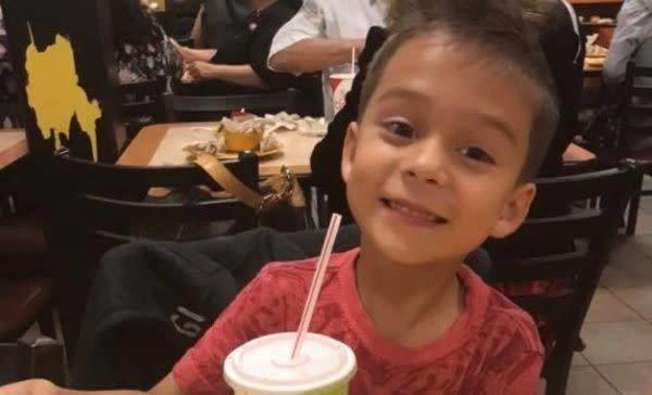 Kameron Prescott, 6, was killed by a stray bullet as deputies shot at a woman outside his home. (Photo: GoFundMe)