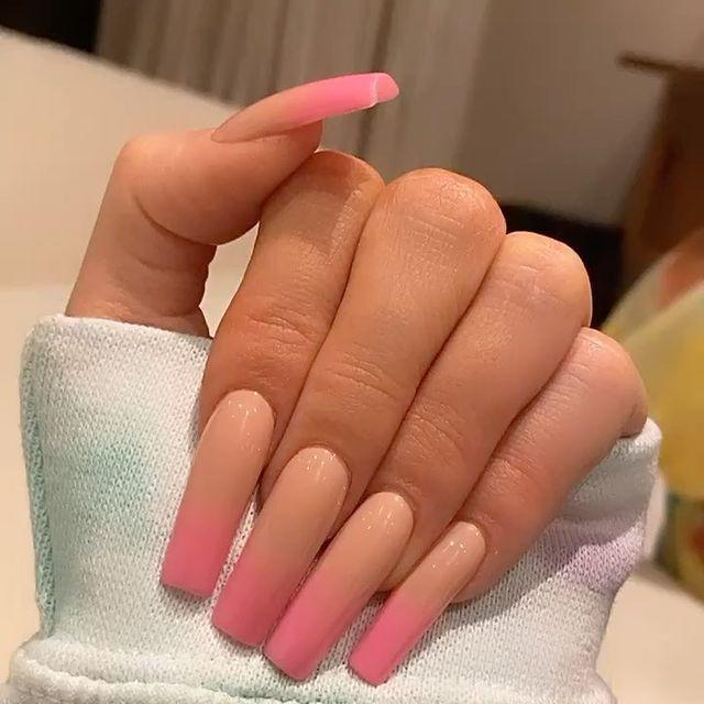 """<p>Yes, this is an article dedicated to Kylie Jenner's nail art, thank you for noticing. French tips are officially back – along with literally every other <a href=""""https://www.seventeen.com/fashion/trends/g26571151/90s-shoes/"""" rel=""""nofollow noopener"""" target=""""_blank"""" data-ylk=""""slk:'90s trend"""" class=""""link rapid-noclick-resp"""">'90s trend</a> – but Kylie put her very own spin on it. This take feels so much cooler than your classic beige combo. </p><p><a href=""""https://www.instagram.com/p/B8Fz_G0H2m4/"""" rel=""""nofollow noopener"""" target=""""_blank"""" data-ylk=""""slk:See the original post on Instagram"""" class=""""link rapid-noclick-resp"""">See the original post on Instagram</a></p>"""