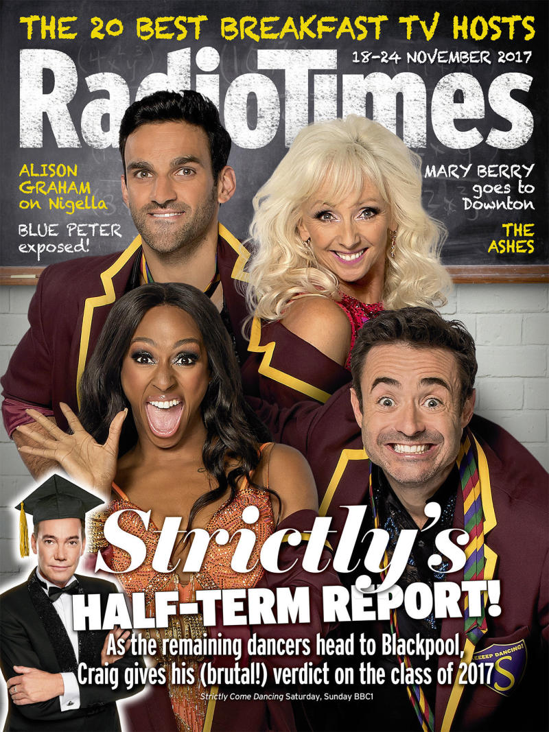 The latest issue of the Radio Times. (Radio Times)