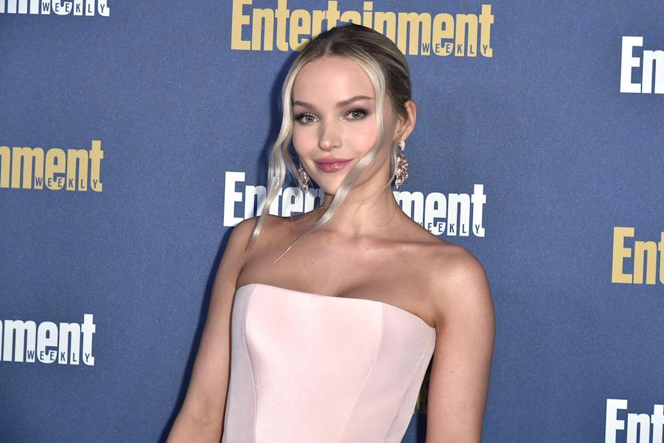 LOS ANGELES, CALIFORNIA - JANUARY 18: Dove Cameron attends the Entertainment Weekly Honors Screen Actors Guild Awards Nominees Presented In Partnership With SAG Awards at Chateau Marmont on January 18, 2020 in Los Angeles, California. (Photo by David Crotty/Patrick McMullan via Getty Images)