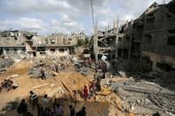 Israel and Hamas cease fire across the Gaza Strip