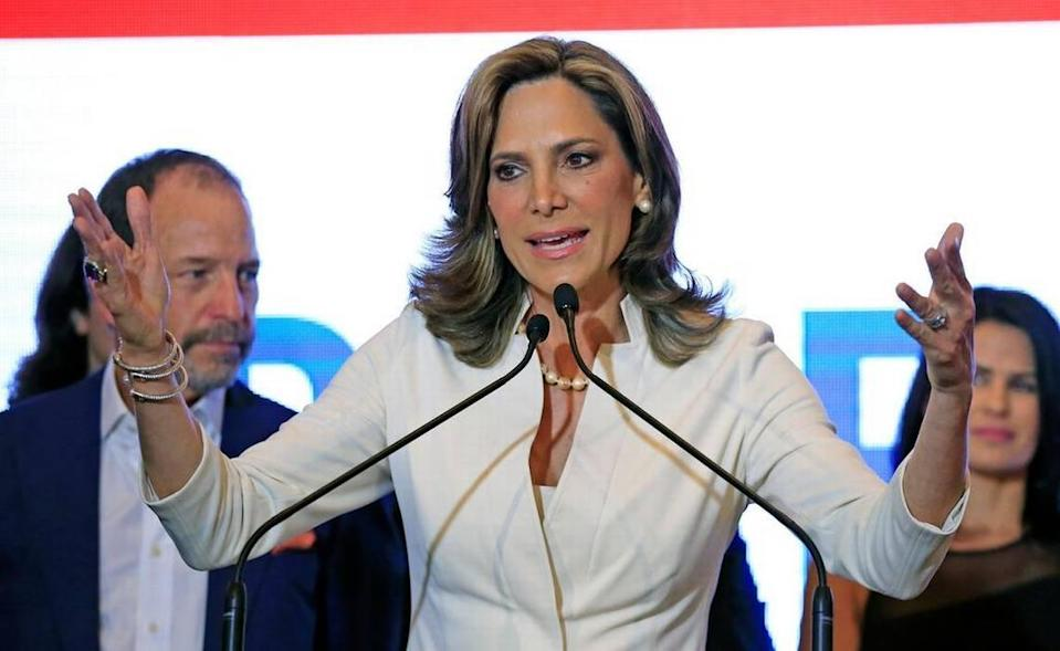 Maria Elvira Salazar in 2018.