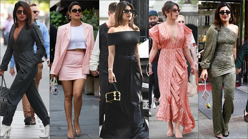 All the Outfits Priyanka Chopra Jonas Has Worn in France: Follow Indian Actress and Fashionista's Latest Style