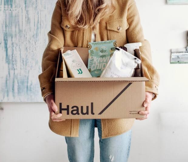 Last year, food provider Legends Haul quickly changed its business model from mainly serving restaurants to providing grocery delivery for households. In 2021, the company is hoping to retain the gains it made over the past few months.  (Legends Haul - image credit)